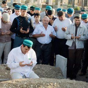 Обряд похорон мусульман Джаназа